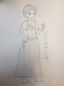 肥後蘇山ちゃん原画