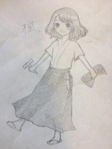 楓ちゃん原画