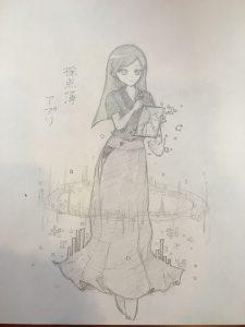 採点簿アプリちゃん原画